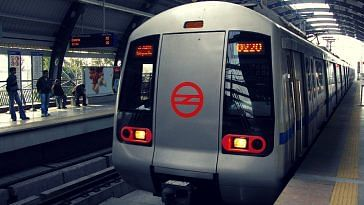 Delhi metro driverless train