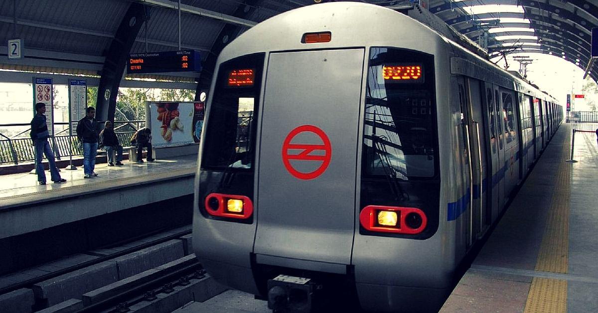 Delhi metro driverless train