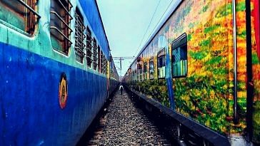 Now book your tickets on the IRCTC website, and get accident insurance. Representative image only. Image Courtesy: Pixabay.