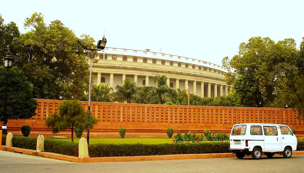 Parliament of India (Source: Wikimedia Commons)