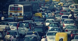 India is no stranger to terrible traffic jams. Picture Courtesy: Wikimedia Commons.