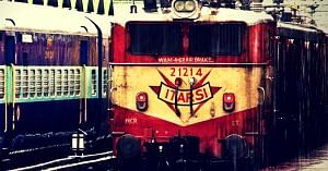 Indian Railways. Picture Courtesy: Wikimedia Commons.