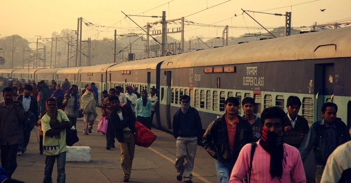 The reservation chart is often stuck to the side of trains. Representative image only. Image Courtesy: Wikimedia Commons.