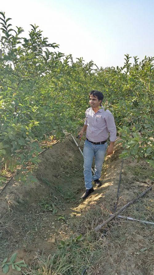 Software Engineer Neeraj Dhanda Quits Job to Bring Organic