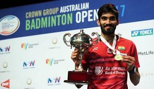 Kidambi Srikanth is supported by GoSports Foundation. (Source: Facebook)