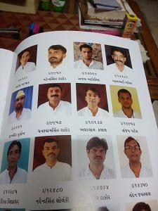 A snapshot of those contributing to the magaizne. (Source: Kaushik Joshi)