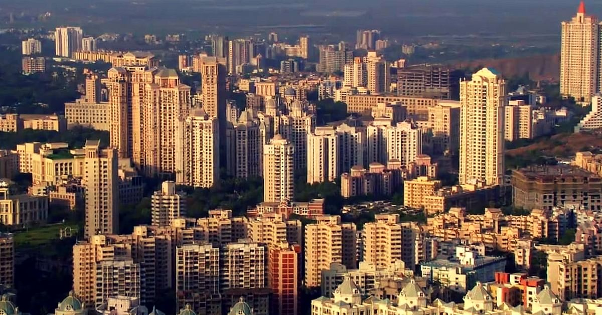 Mumbai, a burgeoning city. Picture Courtesy: Wikimedia Commons.