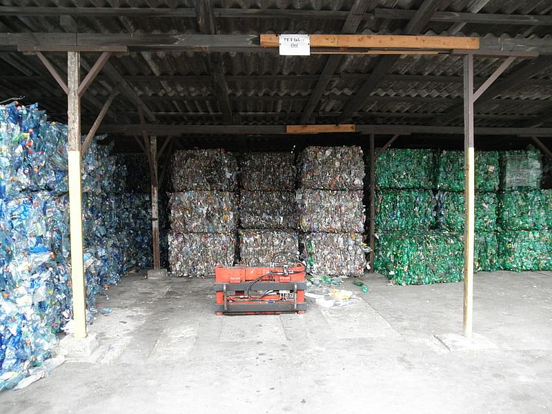 Plastic bottles can become new shirts - through these mills