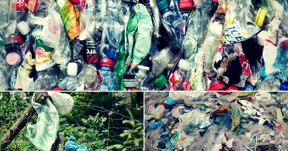 Professor Rajamani Ramakunja is worried about the high amount of plastic polluting the environment. Representative image only. Image Courtesy: Pixabay.