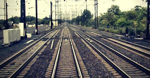 Rohtak is all set to get elevated railway tracks.Image for representative purposes only. Image Courtesy: Wikimedia Commons.