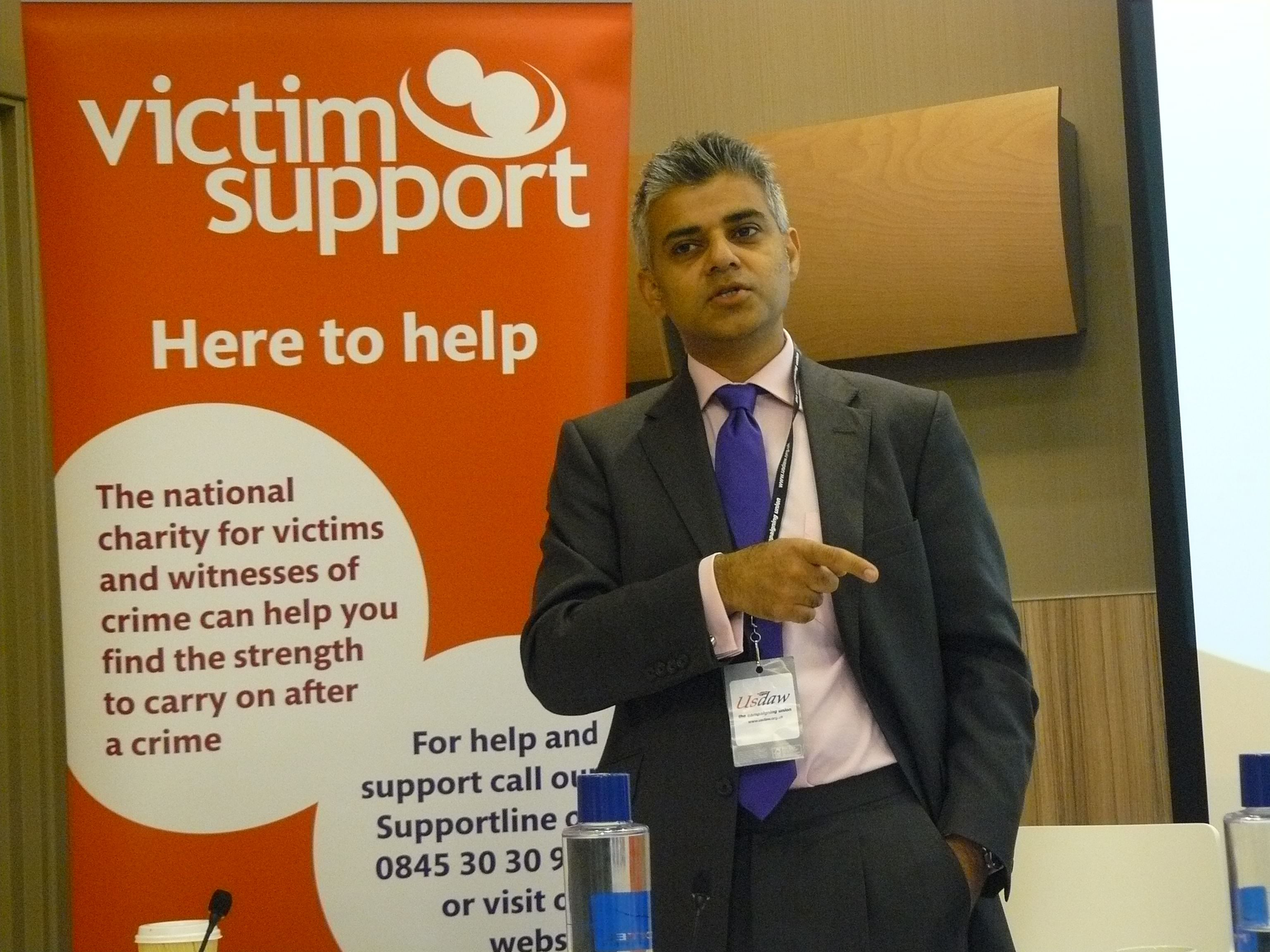 Mayor of London, Sadiq Khan (Source: Wikimedia Commons)