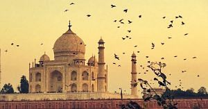 The Taj Mahal. Picture Courtesy: Wikimedia Commons.