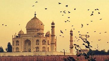 The Taj Mahal. Picture Courtesy: Wikimedia Commons.
