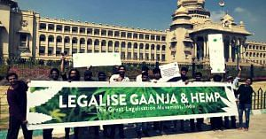 The first rally in favour of legalisation. Image Courtesy: Facebook.