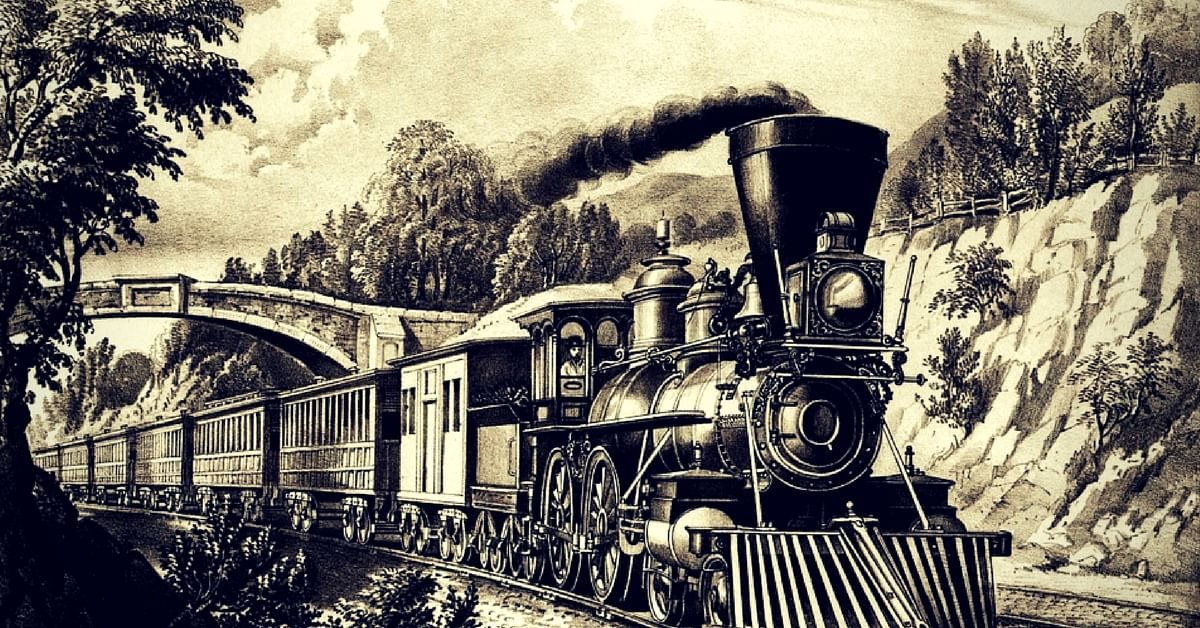 The first train in India ran in 1851. Representative image only. Image Credit: Pixabay.