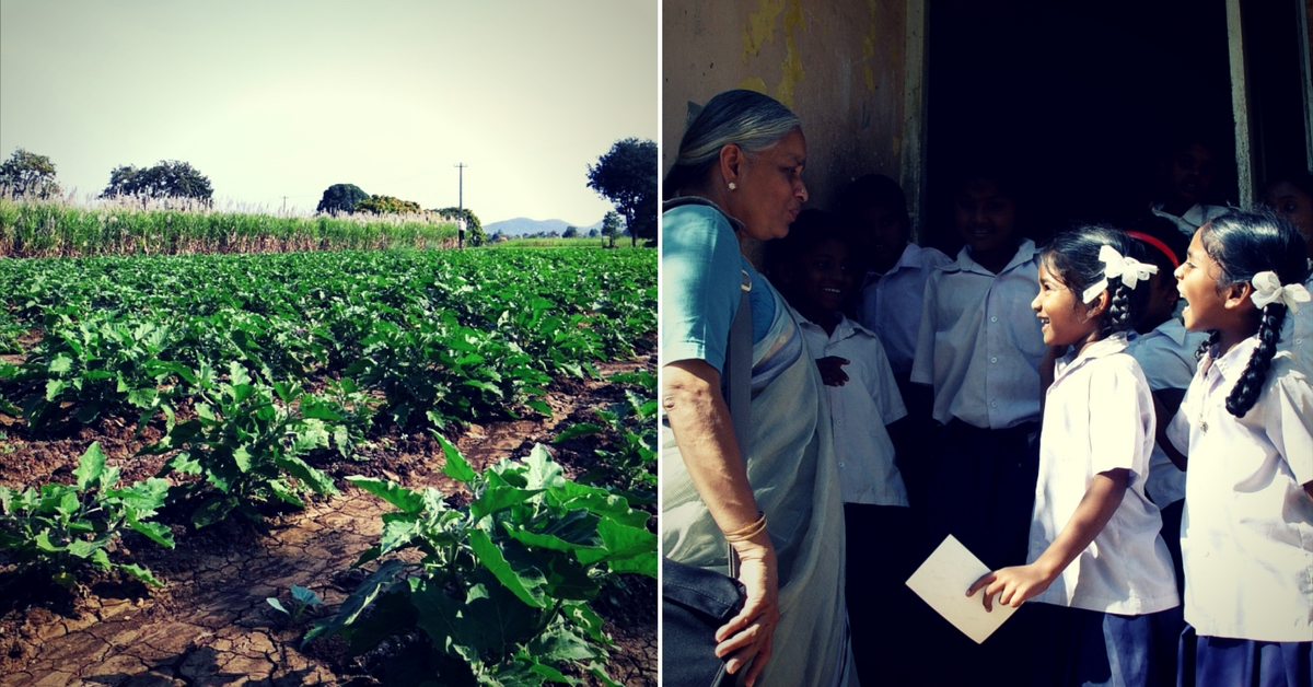 Kerala School Teaches Children Organic Farming, and Auctions the Produce!
