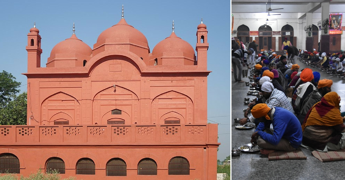Historical Punjab Mosque Opens Its Doors for a Three-Day Sikh Langar