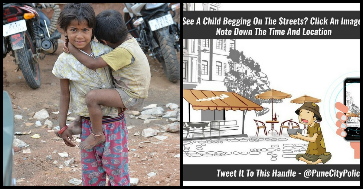 Pune Citizens Can Now Help Cops Rehabilitate Child Beggars; Here's What You Can Do