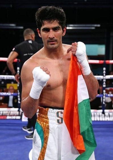Indian boxer Vijender Singh (Source: Twitter)