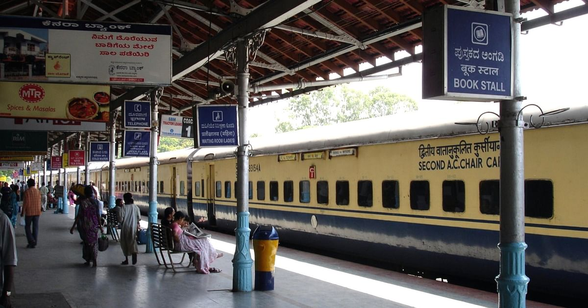 Now, Buy Your Ticket at the Railways Counter With a Few Clicks on Your Phone