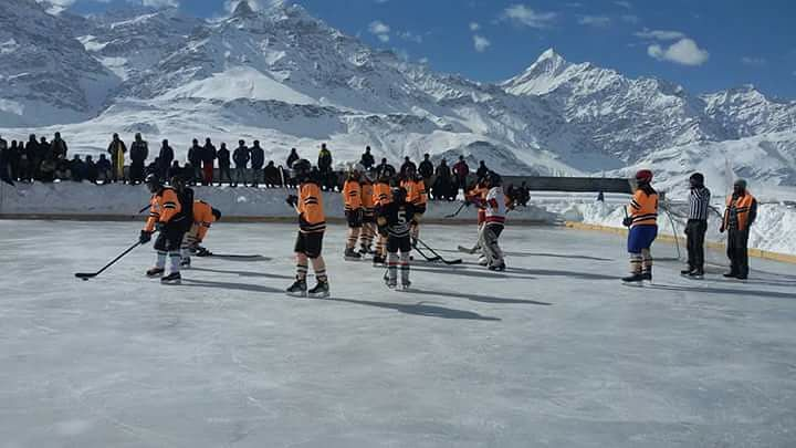 For representational purposes (Source: Ice Hockey Association of India)
