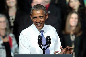 Former US President Barack Obama (For representational purposes-Flickr/Gage Skidmore)
