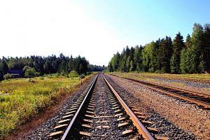 Central Railways tracks garbage