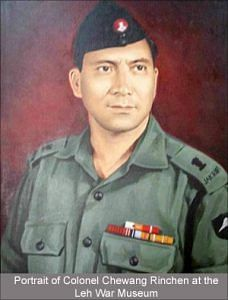 Portrait of Colonel Chewang Rinchen (Source: Leh War Museum)