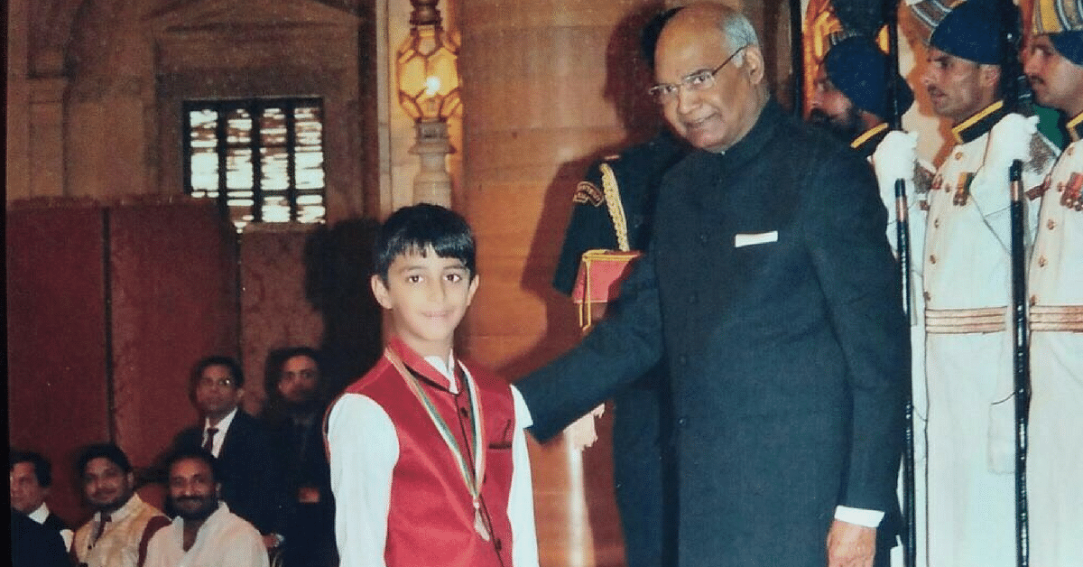 He Is Just 8, but Has Already Won the National Child Award for Social Work!
