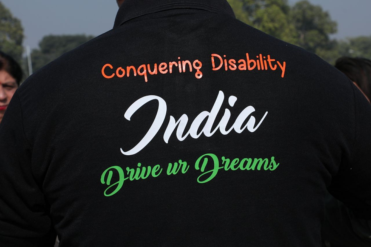 eric paul-paraplegic man-limca book of records