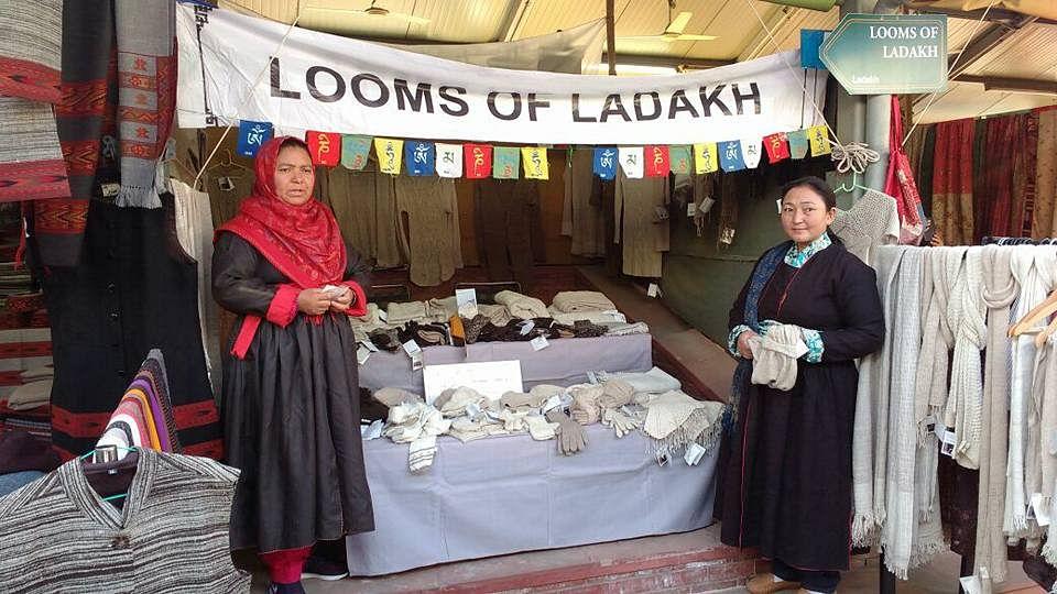 At the Dastkaar Winter Mela (2016-17)