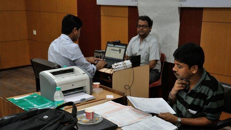 Aadhaar land dealing - Telangana