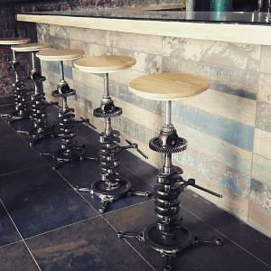 Bar-stools, a commissioned project.