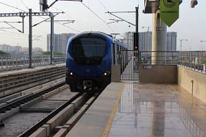 Chennai Metro Rail (Source: Wikipedia Commons)