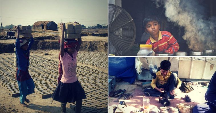Child Labour-the reason many children like them have forgotten how to smile. Image Courtesy:Wikimedia Commons.