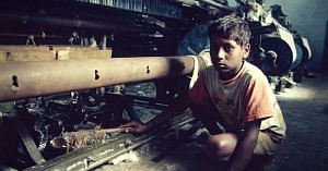 Child labour robs children of their time, smiles and futures. Picture Courtesy:Wikimedia Commons.