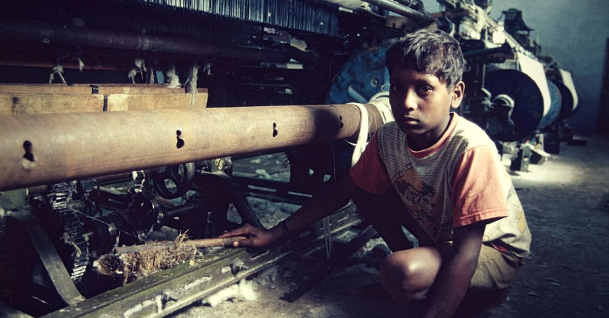Child labour robs children of their innocence. Picture Courtesy:Wikimedia Commons.