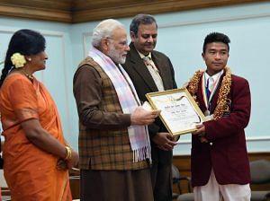 Chingwai - National Bravery Awards kids