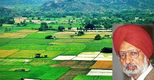 Dr Gurcharan Kalkat was responsible for bringing the Green Revolution to Punjab. Inset Image Courtesy: Tribune.