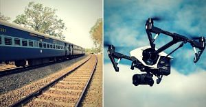 Drones will assist the Railways in maintenance and rescue operations, among other things. Representative image only. Image Courtesy:Pixabay