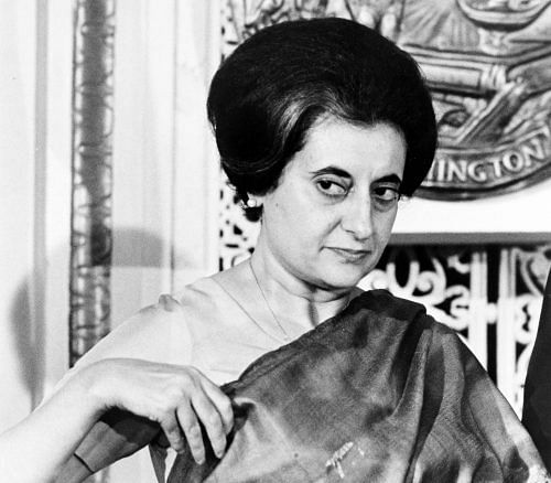 Former Indian prime minister Indira Gandhi. (Source: Wikimedia Commons)