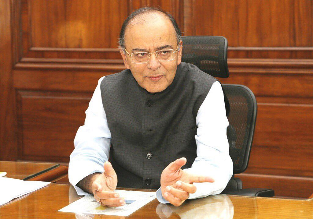 Finance Minister Arun Jaitley (Source: Twitter)