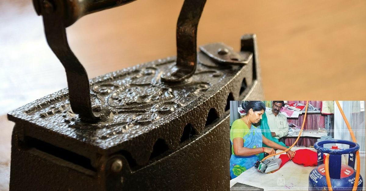 New Lightweight & Economic Iron Press Runs on LPG Instead of Coal