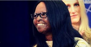 Laxmi Agarwal, an acid attack survivor, who actively campaigns for the rights of acid attack victims.Image Courtesy; Wikipedia.