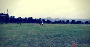 Leg Cricket, an unusual sport. Image Courtesy:- Leg Cricket Federation,India.