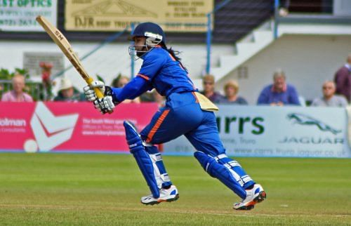The likes of Mithali Raj have given the women's game in India a real lift. Cricket authorities could do well to promote the women's game further in schools. (Source: Wikimedia Commons)
