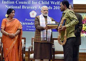 Netravati - National Bravery Awards kids
