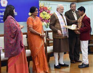 Pankaj Kumar Mahanta National Bravery Awards kids