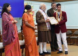 Pankaj Semwal National Bravery Awards kids