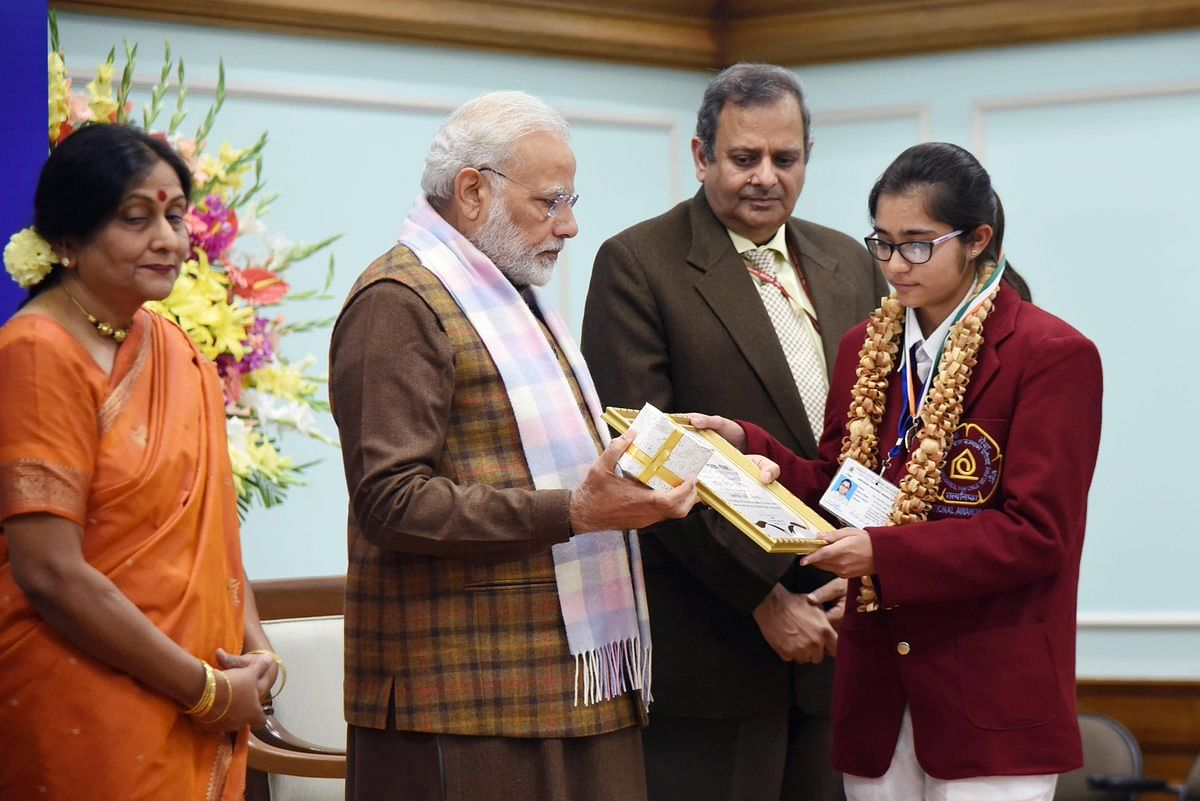 Samridhi National Bravery Awards kids